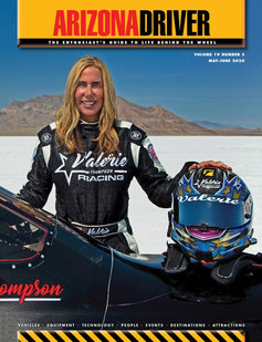 Front cover AZ Driver Magazine