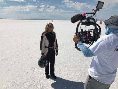 """""""Rockets and Titans,"""" filming Valerie"""