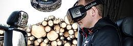 Sveaskogs åkare först i världen att lasta med VR-glasögon