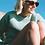Thumbnail: BRUSHED SHETLAND SWEATER in SEA GREEN