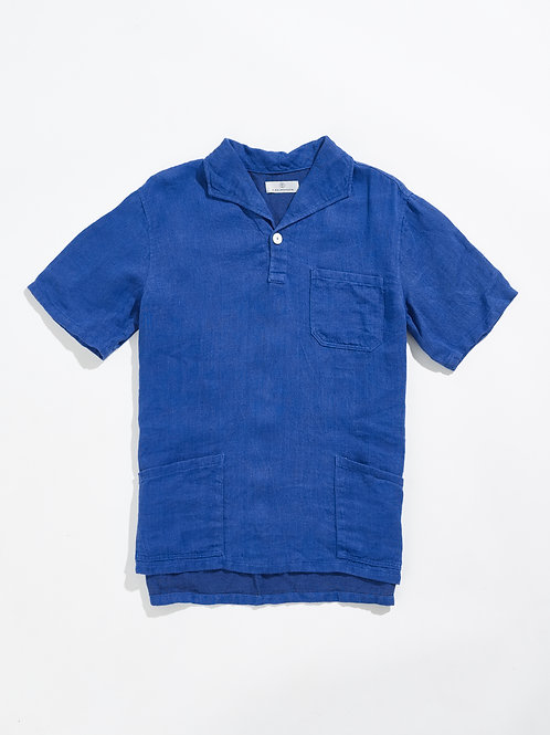 DOCTOR'S SHIRT in COBALT BLUE