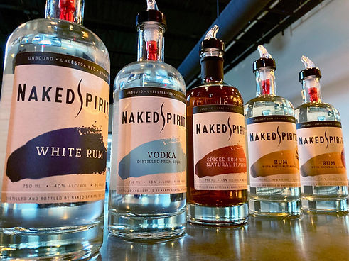 rum vodka cocktails tour tasting sugar naked spirits craft distillery