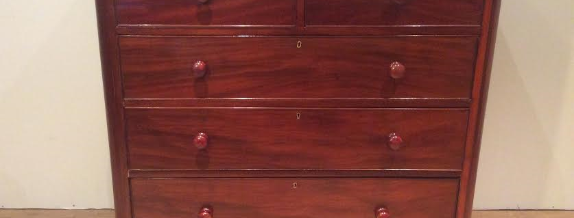 Victorian Mahogany Chest of Drawers.