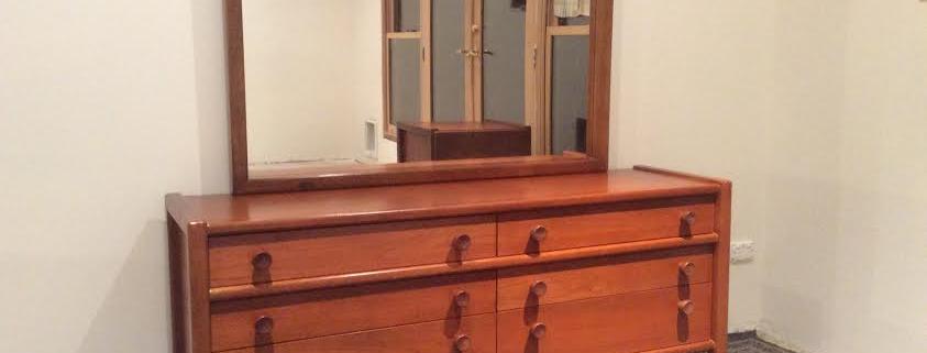 Mid Century Sumna Brand Solid Teak Dresser