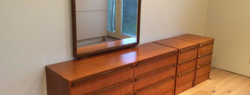Mid Century Australian Made Teak Dresser. Circa 1960.