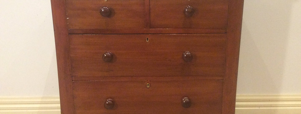 Victorian Cedar Chest of .Four Drawers. Circa 1890