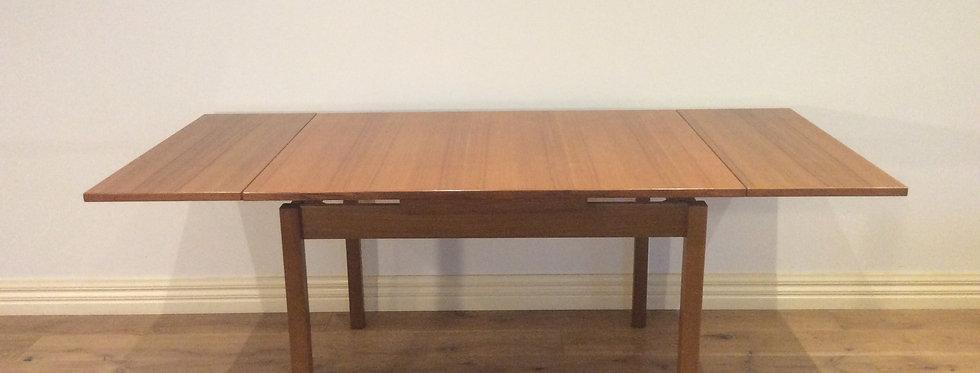 Mid Century Teak Extension Dining Table. Circa 1970.