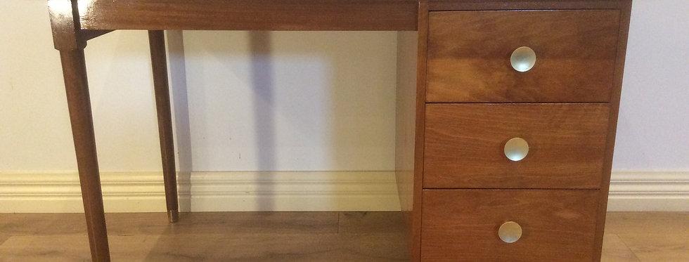 Mid Century Danish Hardwood Desk