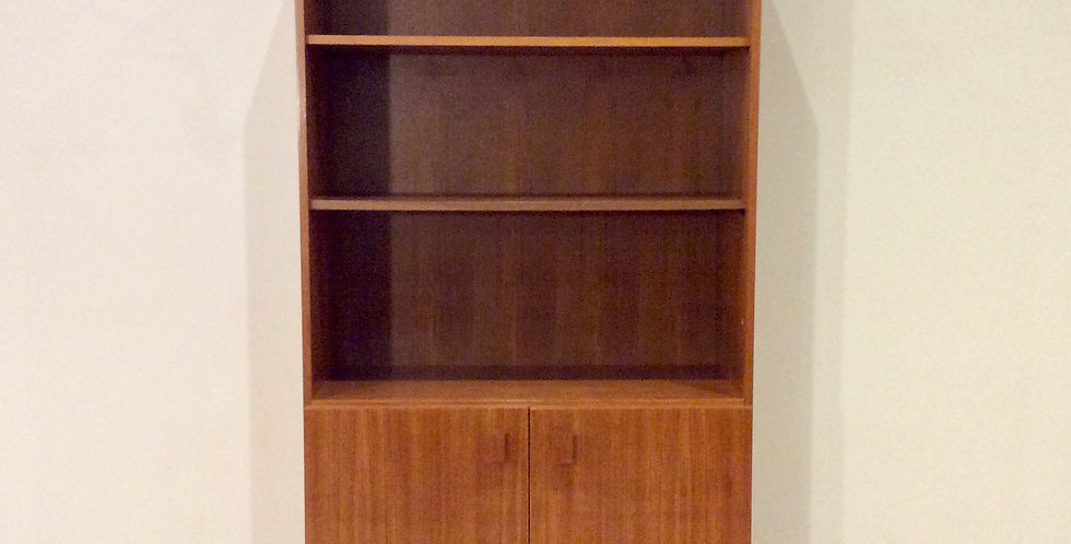 Mid Century Australian Made Teak Wall Unit by E. H. Reidy.