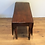 Thumbnail: Victorian Solid Mahogany Gate Leg Drop Side Table. Circa 1840