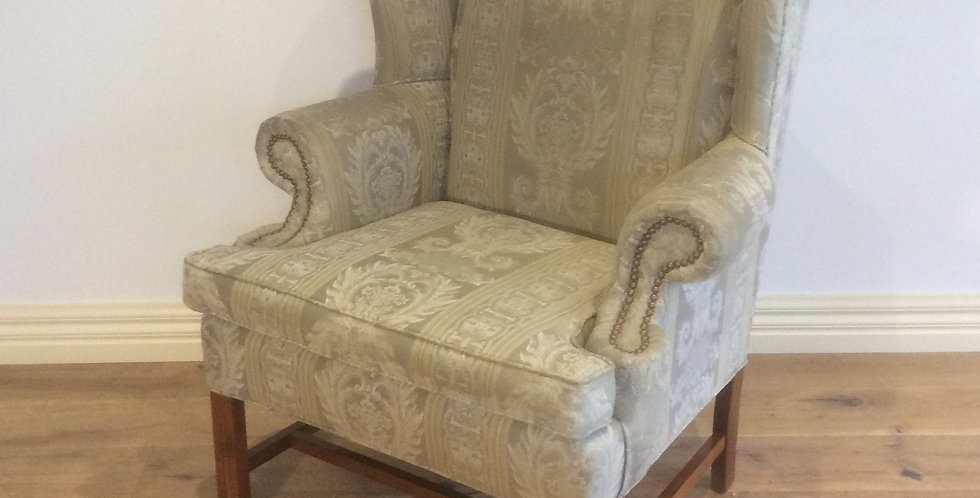 Mid Century Modrn Wing Back Arm Chair
