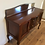 Thumbnail: Restored Antique Blackwood Sideboard with Mirrored Back and Inlaid Panels