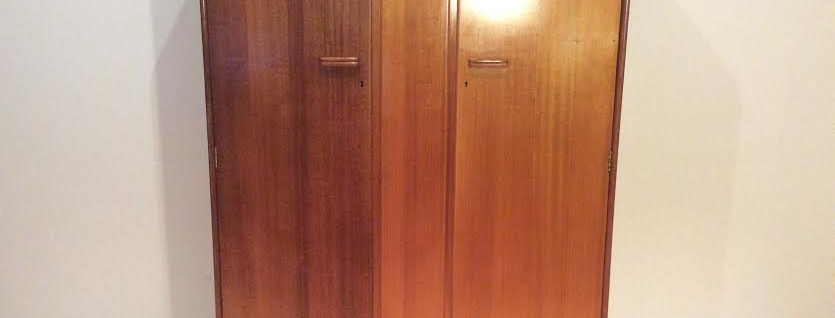 Mid Century Solid Myrtle Myer Heritage Wardrobe.
