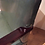 Thumbnail: Matching Pair of Antique Armchairs with Green Vinyl Upholstery. Circa 1940