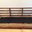 Thumbnail: Rare Mid Century Avalon Solid Blackwood Three Seater Sofa. Circa 1960-70