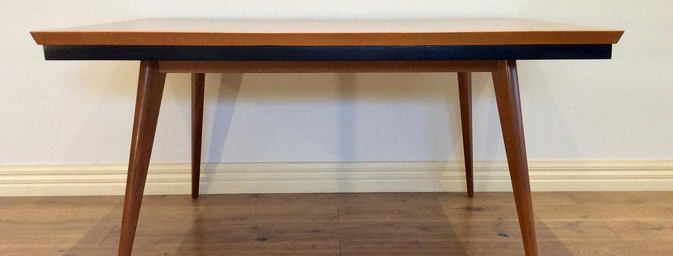 Mid Century Australian Made Oak Dining Table