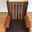 Thumbnail: Full Leather Mid Century Danish Style Armchair. Circa 1970