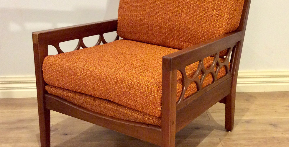 Mid Century Blackwood Arm Chair by Avalon Furniture.