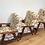 Mid Century Danish Style Arm Chairs