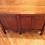 Antique Solid Cedar Three Drawer Desk