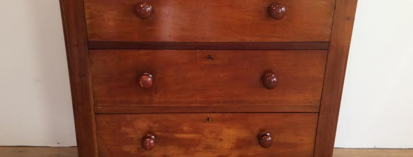 Victorian Three Drawer Chest