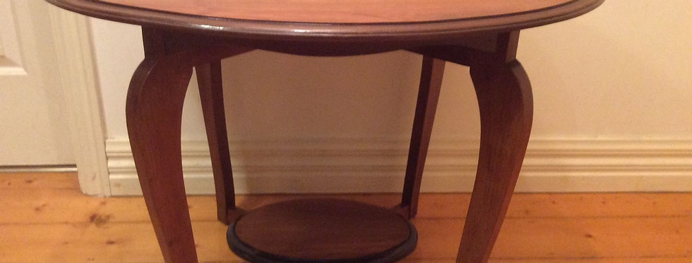 Solid Mahogany Victorian Occasional Table. Circa 1890