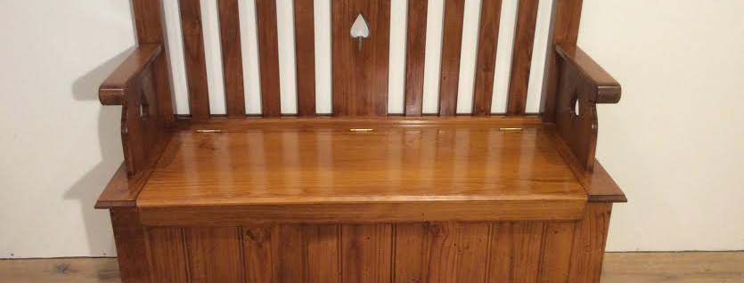 Period Hall Seat with Storage