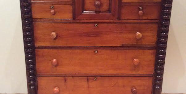 Victorian Cedar Chest of Drawers. Circa 1870