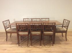 1960s Decro Blackwood Dining Table