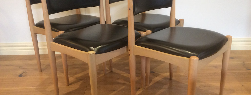 Matching Mid Century Meyer Douglass Dining Chairs