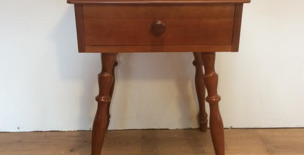 Mid Century Myrtle Style Bedside Table