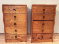 Mid Century Bedside Chests