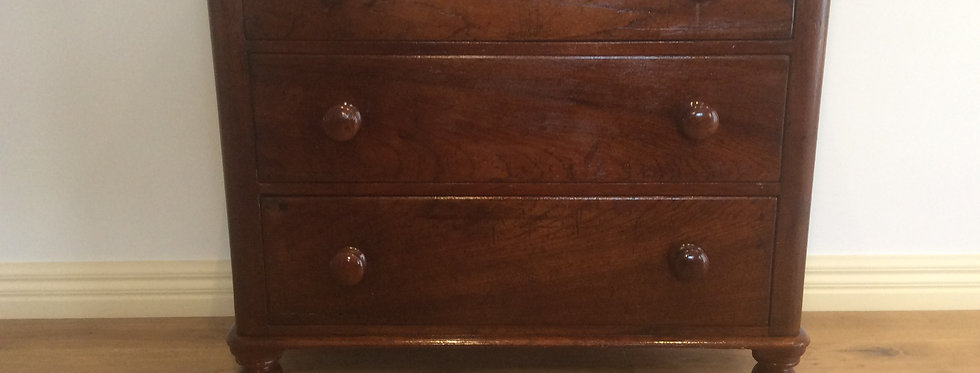 Victorian Cedar Chest of Drawers. Circa 1880