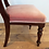 Antique Mahogany Spade Back Chair