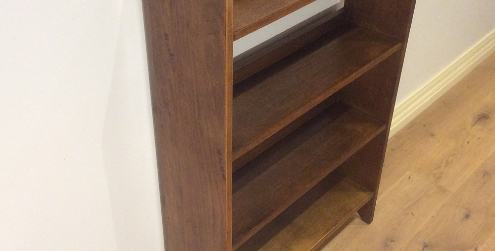 Antique Solid Blackwood Bookshelf