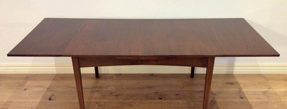 Mid Century Australian Made Teak Extension Dining Table. Circa 1970.