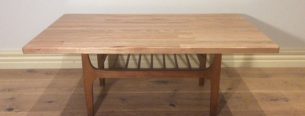 Mid Century Modern Danish Inspired Coffee Table.