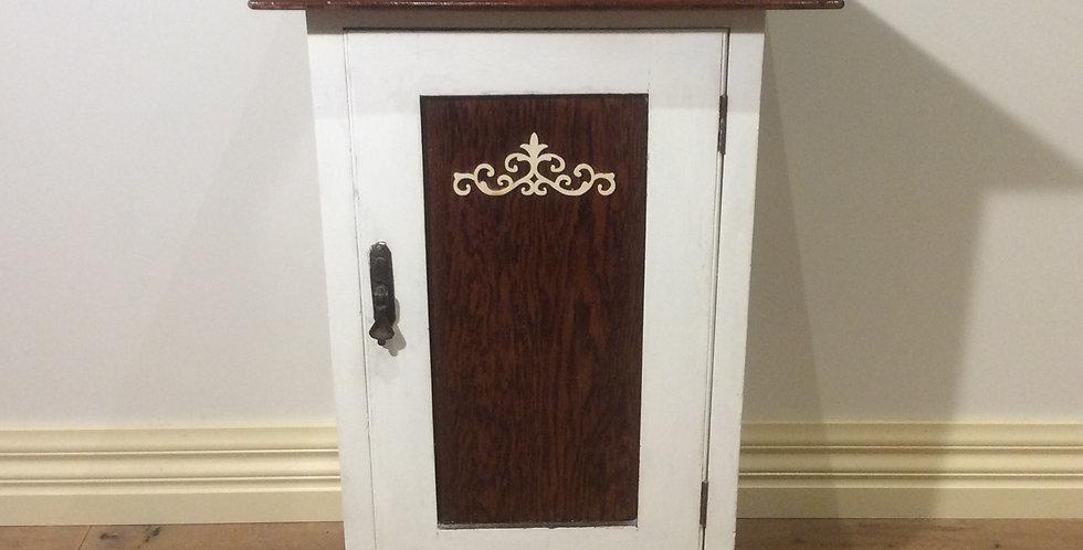 Antique Solid Oak Cabinet.