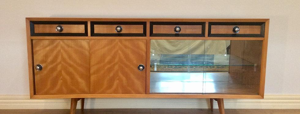 Mid Century Australian Made Oak Sideboard