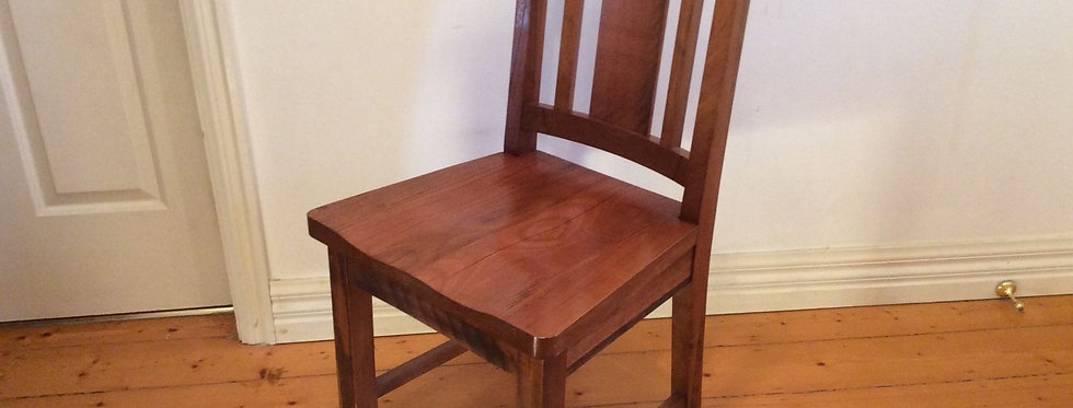 Reclaimed Solid Tasmanian Oak High Back Dining Chair
