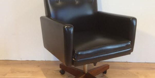 Mid Century Industrial Office Desk Chair