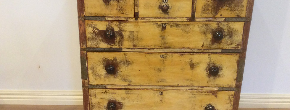 Shabby Industrial Chic Chest of Drawers