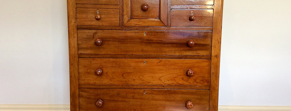 Victorian Seven Drawer Cedar Chest. Circa 1890.