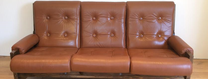 Mid Century Danish Style Three Seater Sofa