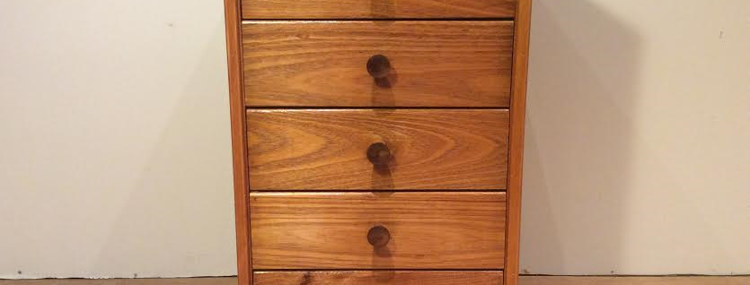 Mid Century Teak Chest of Drawers. Circa 1960