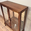 Antique Display Cabinet with Cabriolet Legs.
