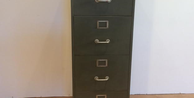 Industrial Grade Filing Cabinet with Key