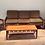 Thumbnail: Rare, Mid Century Avalon Solid Blackwood Armchair. Circa 1960-70