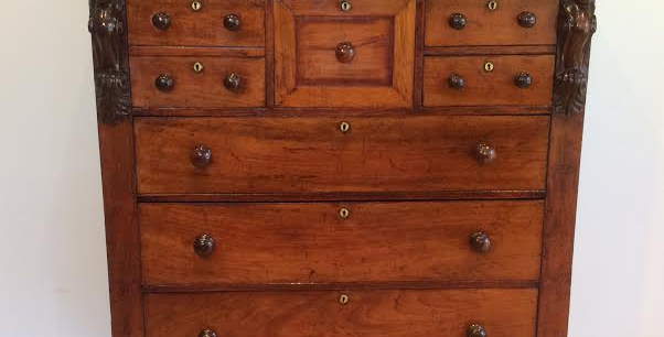 Victorian Chest of Drawers with Top Drawer. Circa 1840