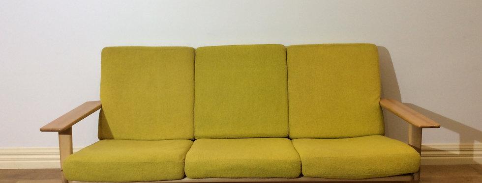 Replica Hans Wegner Plank Three Seater Sofa.
